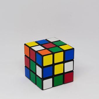 Rubiks, Cube, Puzzle, Toy, Game, Intelligence, Square
