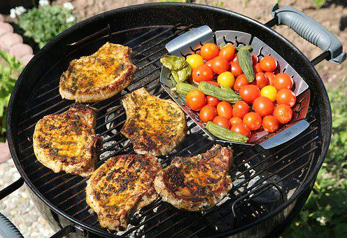 Barbecue, Grill Party, Food, Tasty, Meat, Grill, Bbq