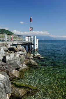Lake Geneva, Switzerland, Vaud, Investors, Blue, Water