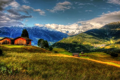 Fiss, Austria, Mountains, Nature, Tyrol, Outlook