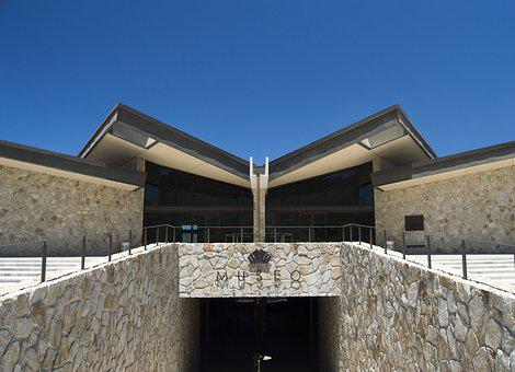 Museum, Wine, Architecture, Building, Symmetry