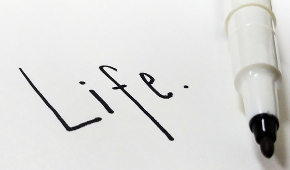 Life, Letter, Pen, Note Paper, Hand Print, Written