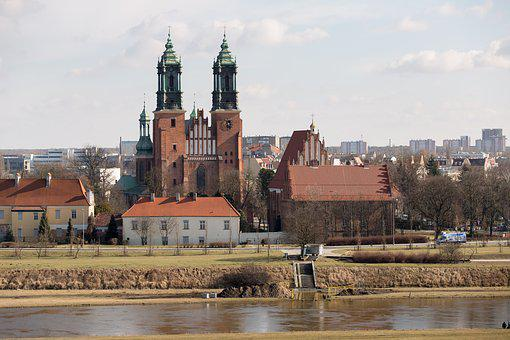 Poznan, City, The Cathedral, Cathedral, Ostrow Tumski