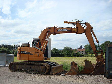 Site, Gear, Backhoe Loader