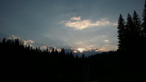 Bulgaria, Rodopi, Sunset