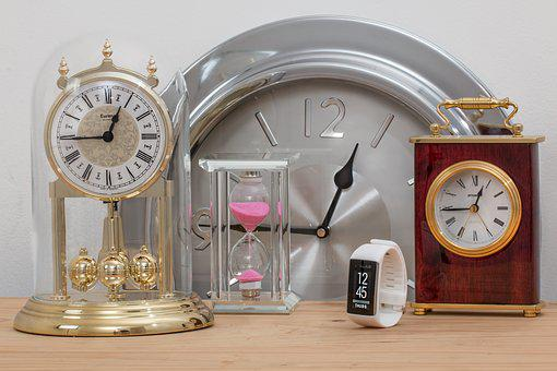 Time, Clocks, Hourglass, Time Management, Accuracy