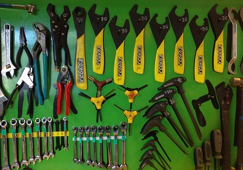 Cycling, Tools, Cycle, Bike, Bicycle, Repair, Wrench