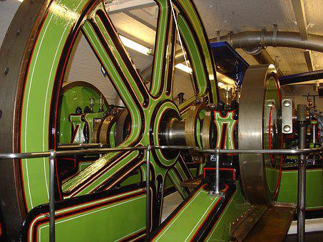 London, Tower Bridge, Engine Room, United Kingdom