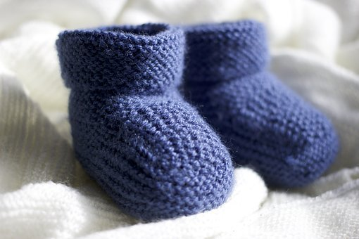 Slippers, Baby, Wool, Mesh, Cute, New-born, Small, Feet