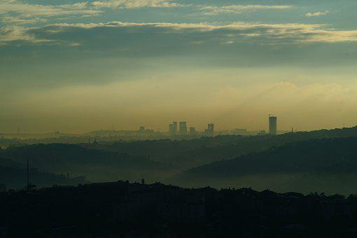 Landscape, City, Istanbul, Turkey, City ​​center