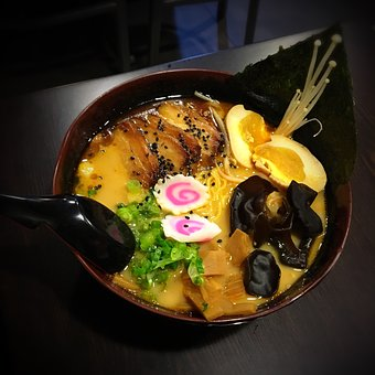 Ramen, Noodles, Soup, Food, Cuisine, Asian, Meal