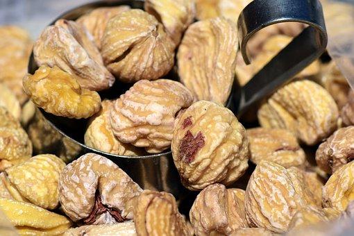 Chestnut, Sweet Chestnuts, Dried, Dried Chestnuts, Eat