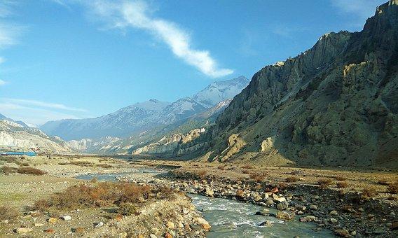 Manang, Nepal Landscape, Nepal Mountain