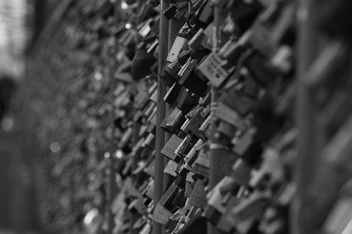 Love Locks, Cologne, Padlocks, Bridge, Castles