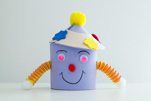 Color, Game, Clown, Plaything, Yellow, Grin, Cant, Cute