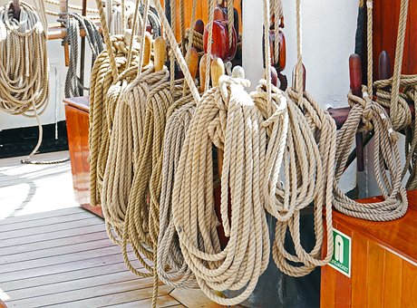 Cordage, Tall Ship, Canvas, Reserve, Knot, Deck