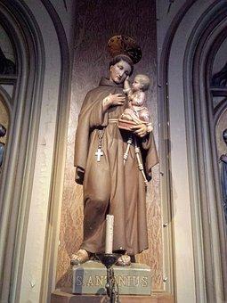 Church, Image, Saint Anthony, Religion, Antwerp, Faith