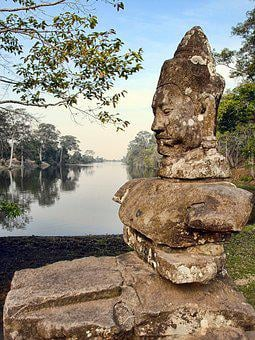 Cambodia, Siem Reap, Tourism, Travel, Ancient, Siem