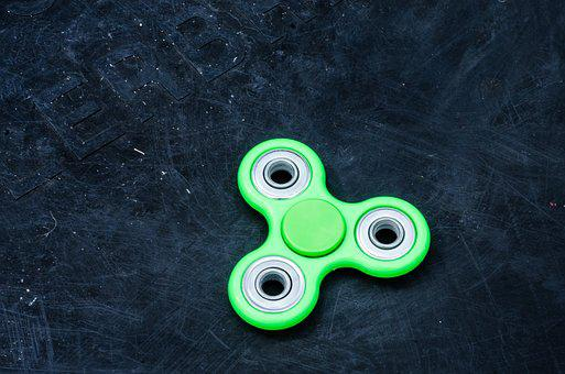 Fidget Spinner, Spin, Play, Stress, Toy, Fidget