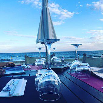 Beach, Restaurant, Summer, Travel, Vacation, Bar, Sea