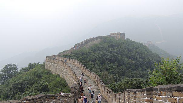 Beijing, China, Great, Wall, Asia, Travel, Chinese