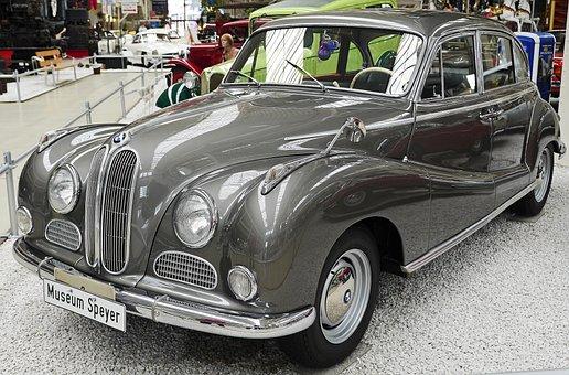 Bmw 502, Built In 1960, V 8, Nicknamed Baroque Angels