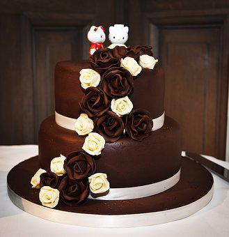 Wedding Cake, Cake, Chocolate, Wedding Cakes, Wedding