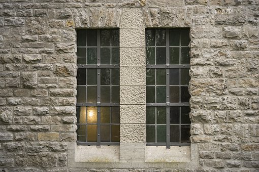 Architecture, Window, Shimmer, Seem, Light, Grid, Old