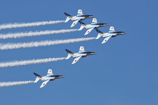 Fighter, Blue Impulse, Air Festival