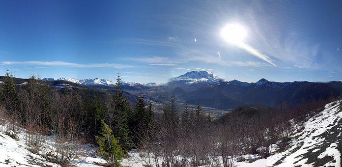 Washington State, Volcano, Boom V