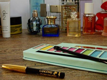 Cosmetics, Make Up, Eye Shadow, Brush, Schmink Brush