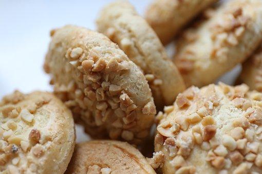 Dim Sum, Shortbread, Biscuit, Delicious, Peanut, Taste