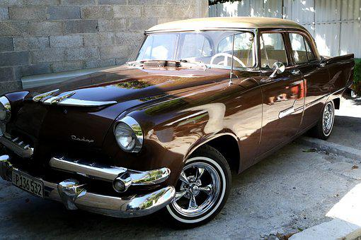 Cuba, Habana, Havana, Caribbean, Dodge, Brown, Historic