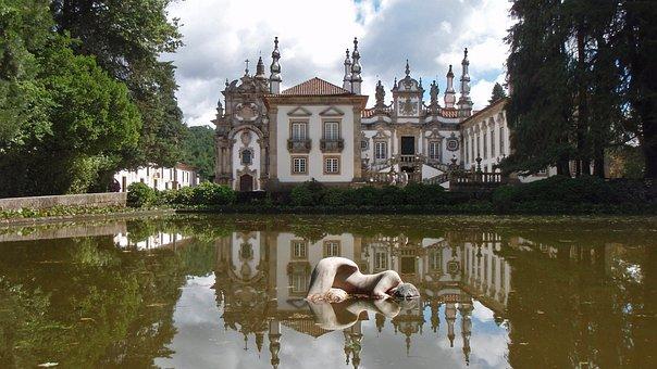 Mateus, Casa, Palace, Villa Real, Portugal