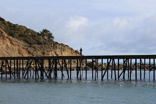 Dock, Quay, Trawling, Travel, Netting, Net, Stacked
