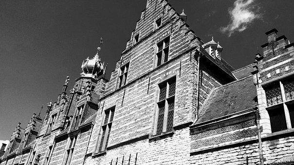Bergen Op Zoom, Netherlands, Architecture, Old