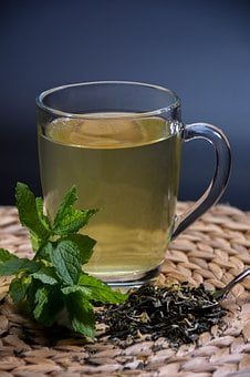 Tea, Mint, Herbs, Cup, Aromatic, Plant, Foliage