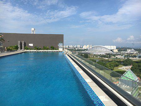 Pool, Outdoors, Singapore, Foreign Countries, City