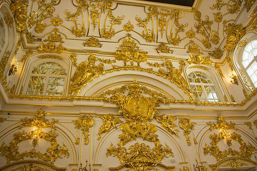 Russia, Saint-petersburg, Peter And Paul Cathedral