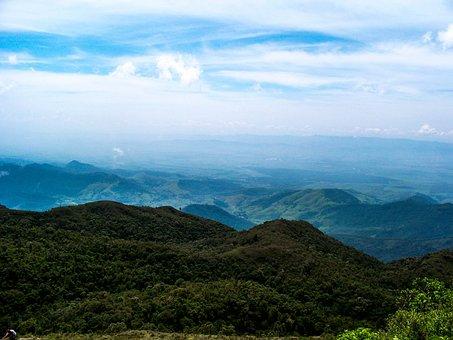 Saw Mantiqueira, Blue Sky, Landscape