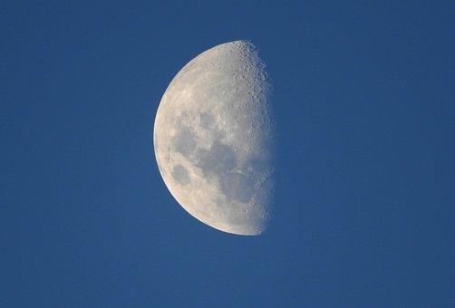Moon, Satellite, Moonlight, Sky, Brightness