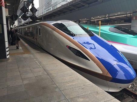 Bullet Train, Station, Tsubasa, 500 Series, Train
