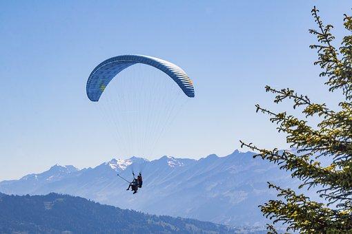 Paraglider, Tandem Gliders, Glider, Sailor