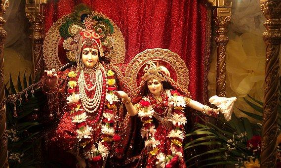 Radha4, Temple, Krishna, India, Deities, Govinda, Hindu