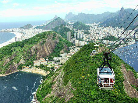 Rio, Brazil, Tourism, Janeiro, Brasil, Sugarloaf