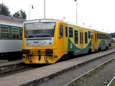 Train, Station, Track, Locomotive, Railroad Tracks