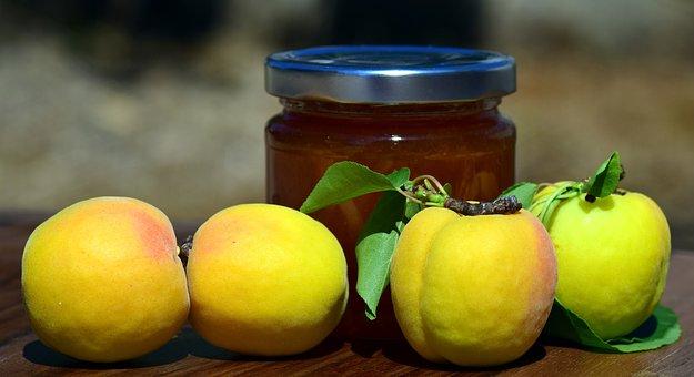 Apricot Jam, Apricots, Fruit, Stone Fruit, Jam, Fresh