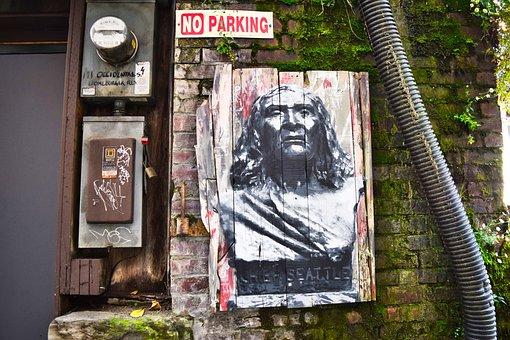 Seattle, Street, Native, Urban, City, America, Usa, Art