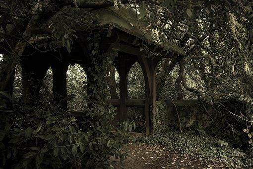 Church Gate, Churchyard, Cemetery, Burial, Death