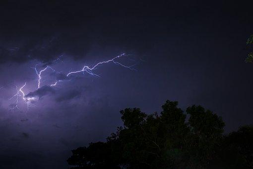 Lightning, Thunder, Cloud, Storm, Energy, Light, Power
